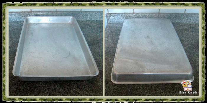 Restaurando assadeiras de alumínio 1