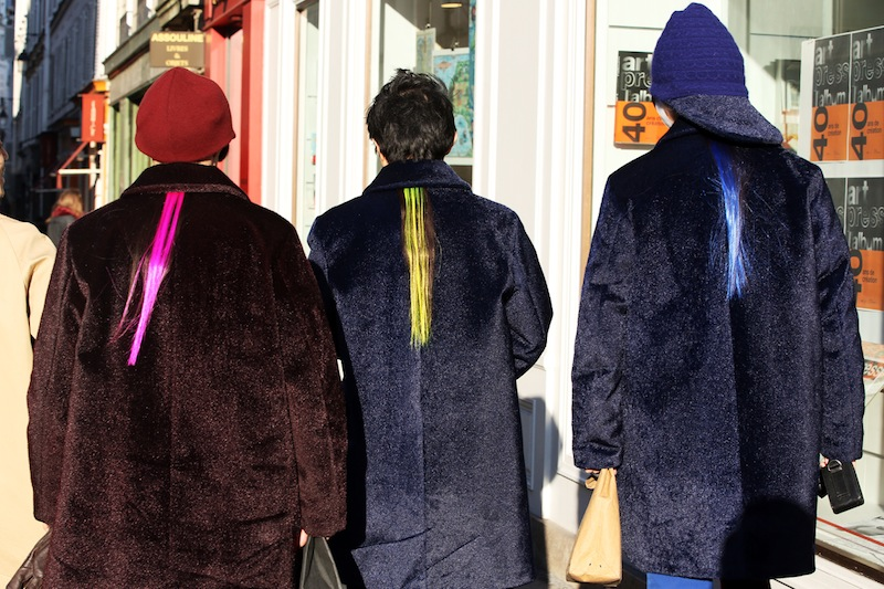 *Paris Fashion Week Fall/Winter 2013 Street Style:Nam巴黎時裝週街拍! 7