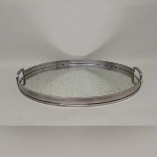 Arteriors Modern Lupita Oval Tray