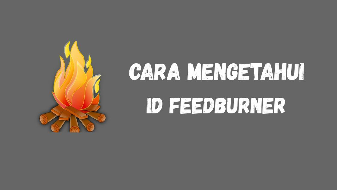 Cara Mudah Mengetahui ID FeedBurner blog kalian
