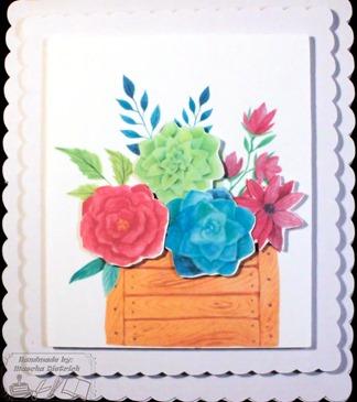 Bloemen kaart 1