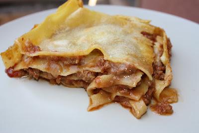 Porção de Lasagna