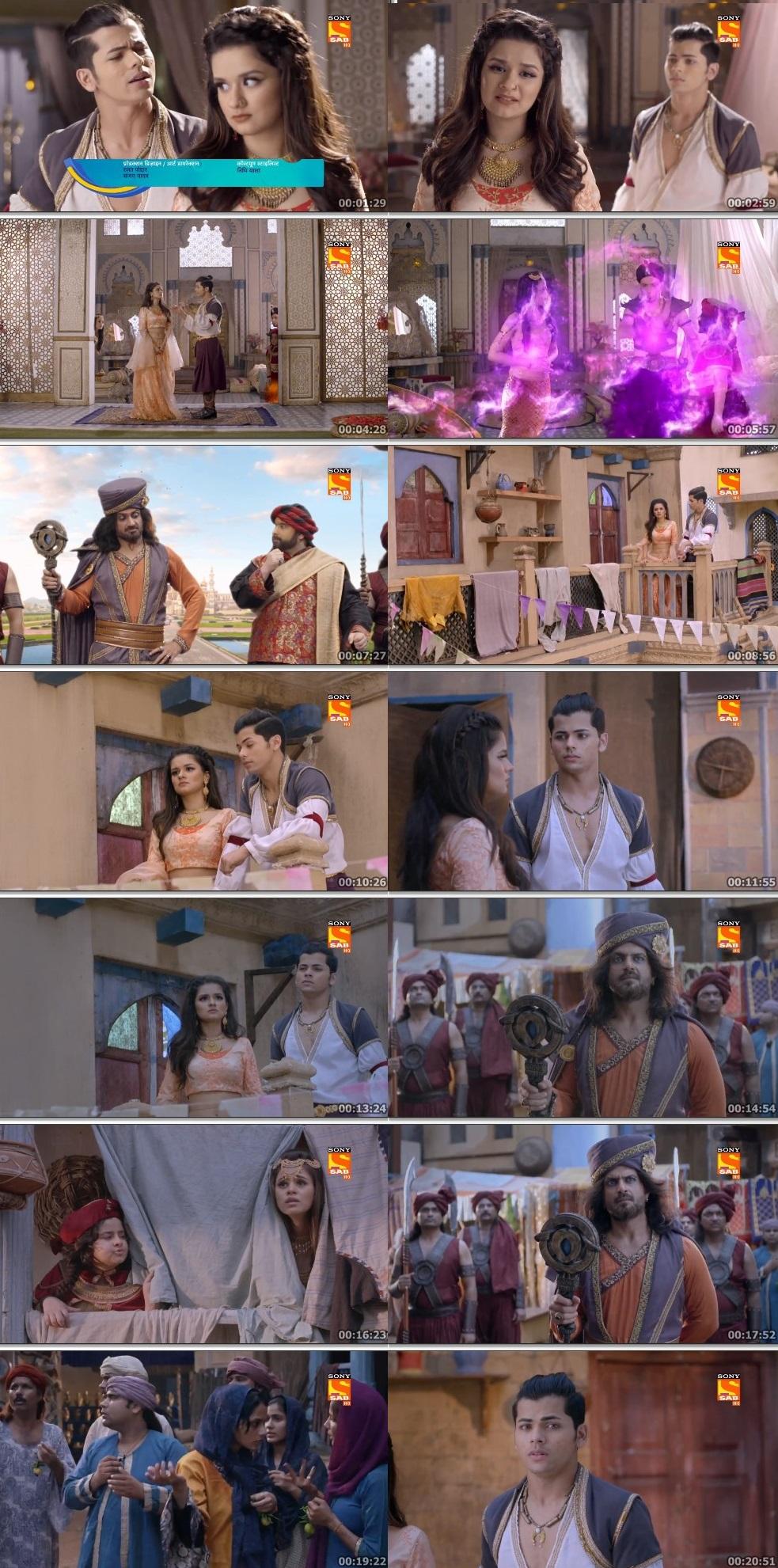 Screenshots Of Hindi Show Aladdin – Naam Toh Suna Hoga 2019 Episode 283 300MB 720P HD