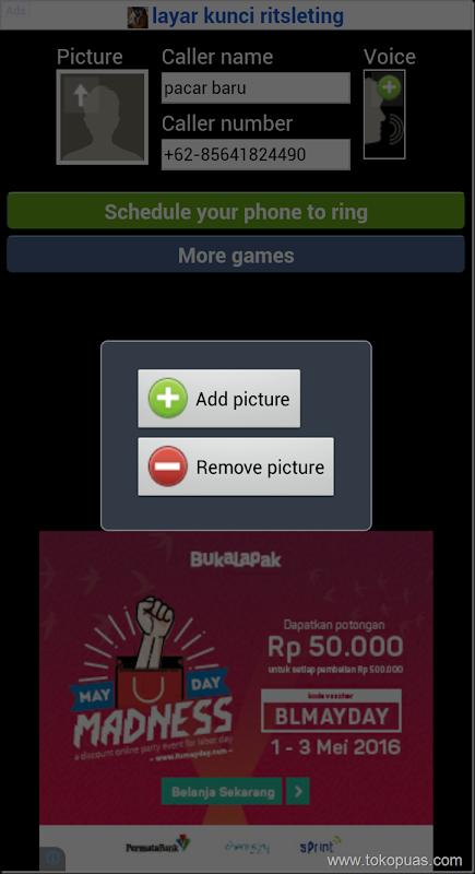 aplikasi panggilan palsu fake caller