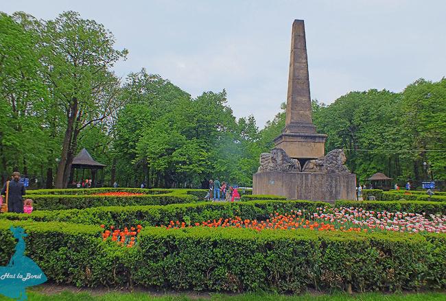 monument parc copou iasi