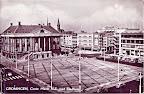 Groningen. Stadhuis met rechts Amsterdamsche Bank.  Gelopen gestempeld in 1962.