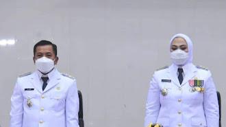 Kalinya Pertama Bupati dan Wabup Terpilih Memberikan Pidatonya di Hadapan DPRD Karawang