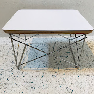 Herman Miller Eames Wire Base Side Table