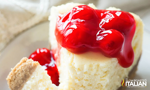 Best Ever Crockpot Cheesecake