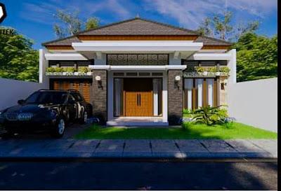 rumah sederhana ukuran 7x10 kamar 3