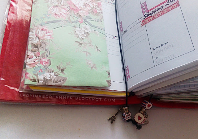 DIY planner bookmark