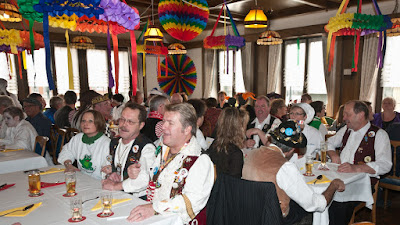 Gute Stimmung herrschte bei der Narrensuppe in der Neuenburger Krone.
