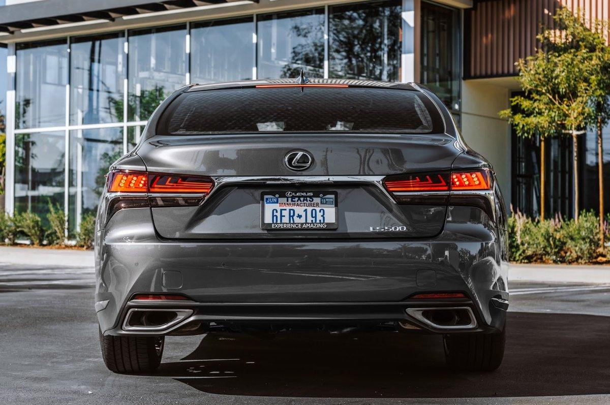 2018 Lexus Ls 500 Luxury Sedan