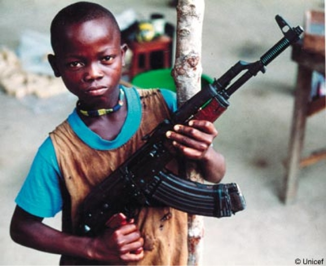 Child Soldiers Armed and Dangerous