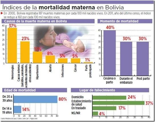 Embarazos en Bolivia