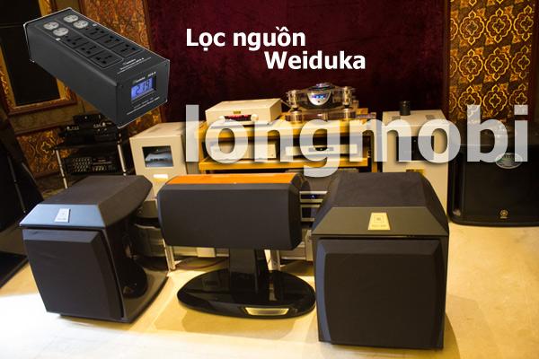 Bộ lọc điện Audio Weiduka AC 8.8 ADVANCE 2018