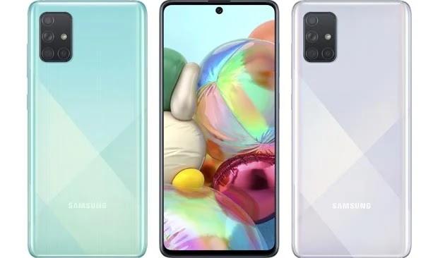Samsung Galaxy A71 Spesifikasi