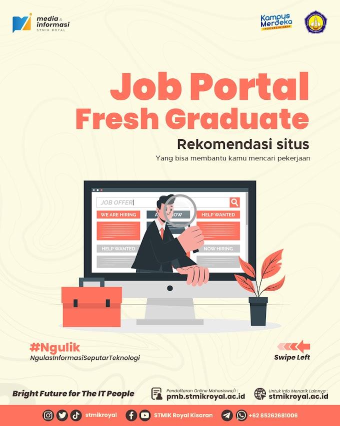 Rekomendasi Situs Job Portal untuk Fresh Graduate