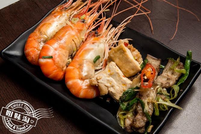 進吉泰國蝦海鮮炭烤吃到飽熟食區熟蝦料理