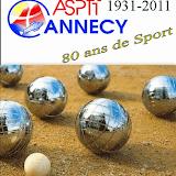 ASPTT ANNECY 80 ans