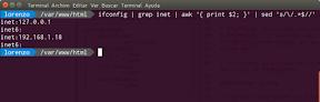 Instalar LAMP en Ubuntu. Averiguar la IP.