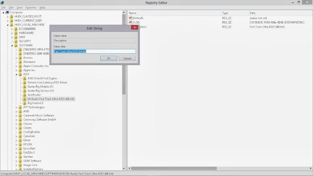 m audio fast track ultra driver update