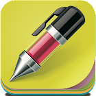 Quick Note sticky note widget icon
