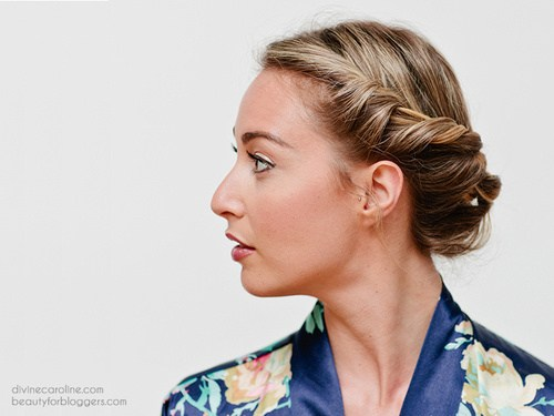 Trendy, creative and easy  updos for hair 2017 7