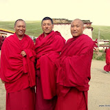 Massive religious gathering and enthronement of Dalai Lama's portrait in Lithang, Tibet. - l7.JPG