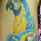 arm yellow blue - tattoos ideas