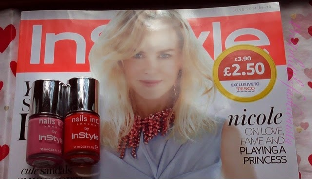 June Instyle Magazine and Nails Inc