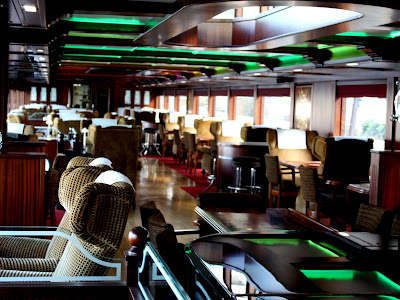 Interior of the Spirit of Chartwell in London England