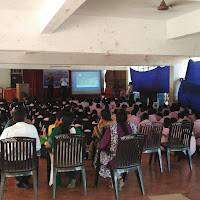 Pre-Fest scientist interaction and film screenings in schools of Goa