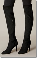 Karen Millen Stretch Suede Over the Knee Boot