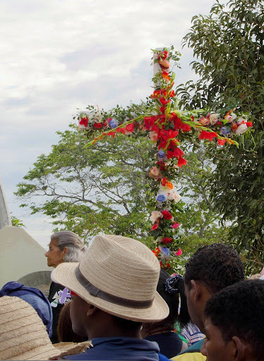 Cruz de Mayo en el cerro El Banqueo
