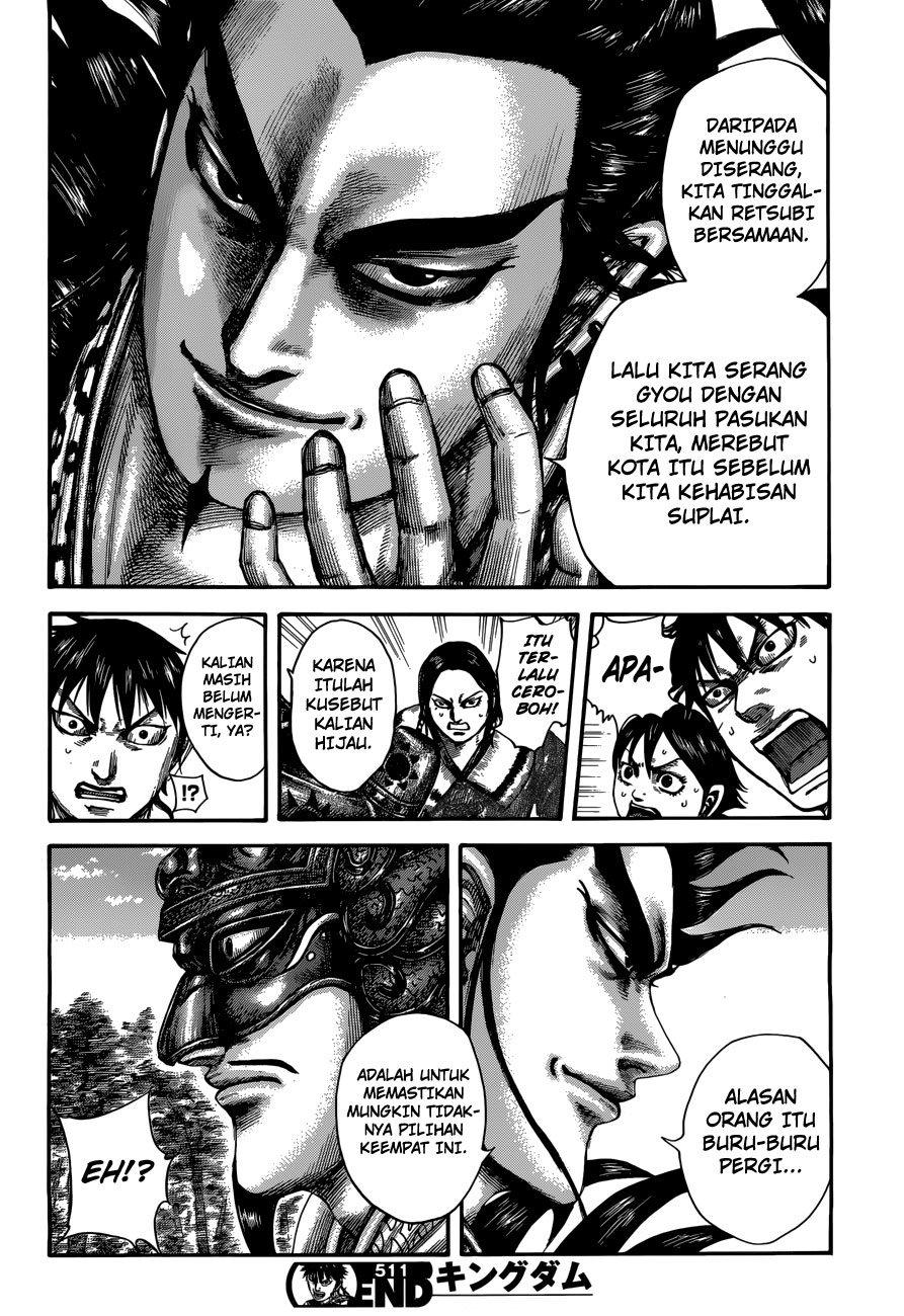 Baca Manga Kingdom Chapter 511 Komik Station