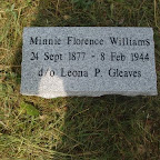 Marker placed July 2010.  Unmarked Grave discovered through our web site.