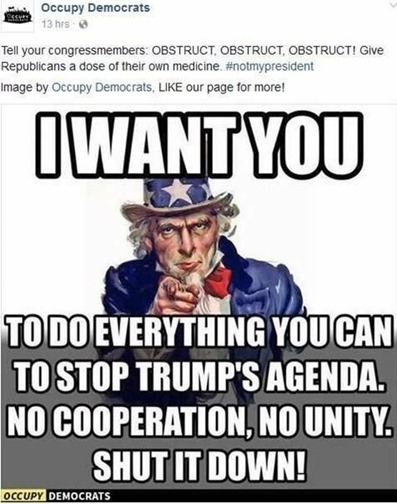 democrats occupy resist obstruct