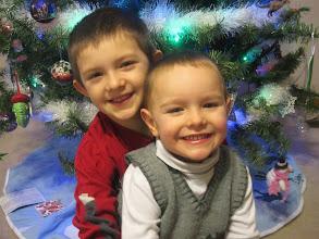 Photo: Craig '01 and Lisa Grumbine '04 Maynard's sons, Eli and Zeke.