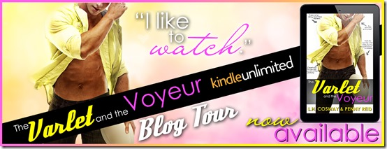 Spotlight: The Varlet and the Voyeur (Rugby #4) by L. H. Cosway & Penny Reid + Excerpt