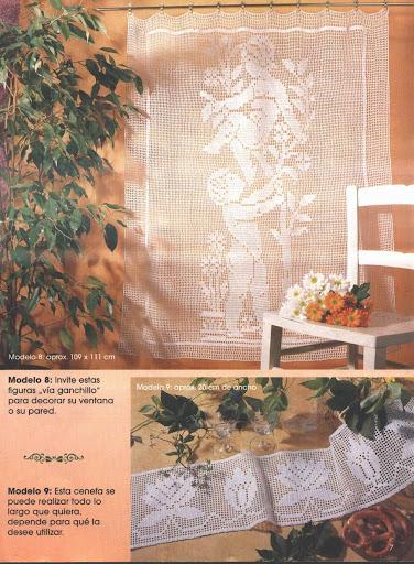 busco patrones de puntillas para una vitrina del salón 1051121989953