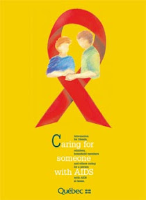 Cover of Helen Ferry's Book Caring For Someone With Aids