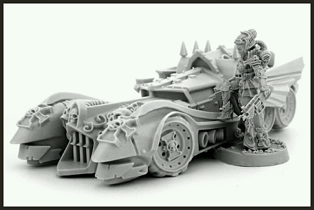 ARMORED INTERCEPTOR CAR wargame exclusive