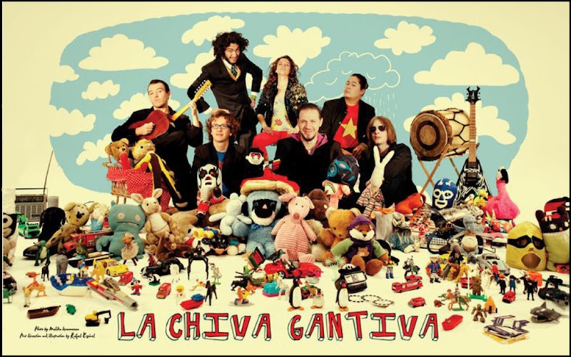 La Chiva Gantiva - Adnams Spiegeltent, Saturday 28 May,10pm