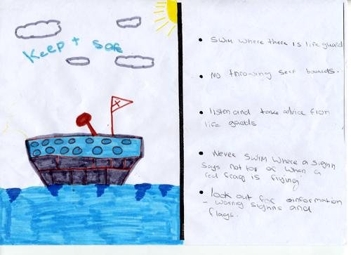 Sea safety checklist - Freda