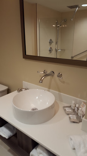 Gorgeous bathrooms at JAG - Where to stay in St John's, Newfoundland
