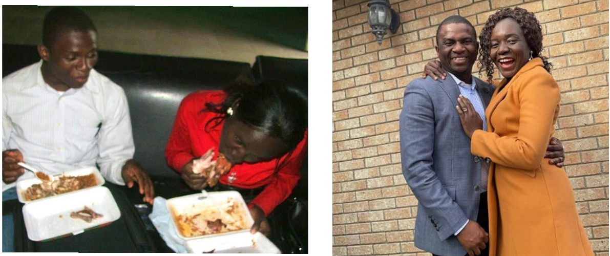 You are still forming if you cannot eat chicken the way my wife did in this picture while dating - Nigerian preacher, Dr. Samuel Ekundayo