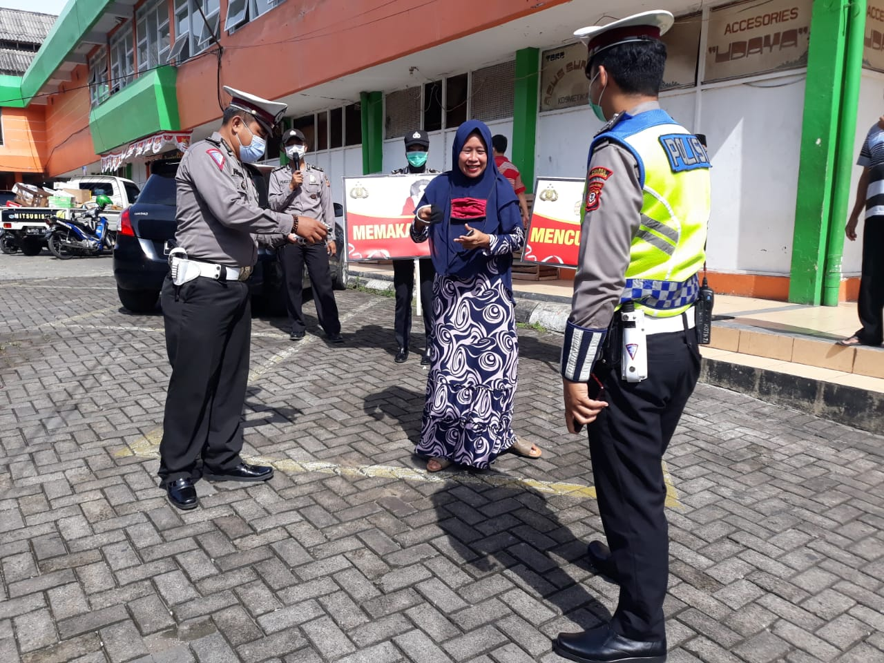 Operasi Yustisi, Polsek Purwakarta Kota Sasar Di Pusat Keramaian
