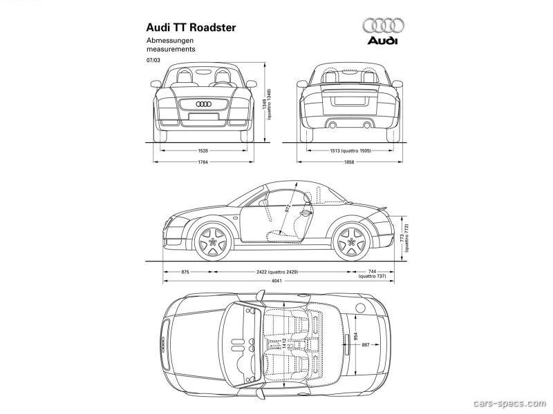 2001 Audi TT Convertible Specifications, Pictures, Prices