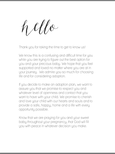 Adoption Profile Letters: 8 Inspiring Examples